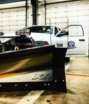 Snow Ice Plow Truck Photo
