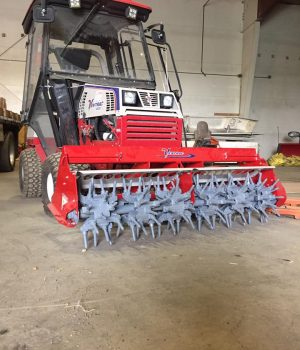 Landscape Maintenance - Ventrac Aeration