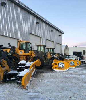 Snow & Ice - Fleet Loaders Anchorage Area
